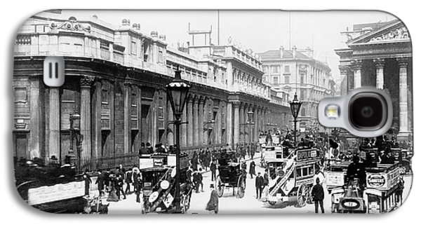 Bank Junction Horse-drawn Traffic Galaxy S4 Case