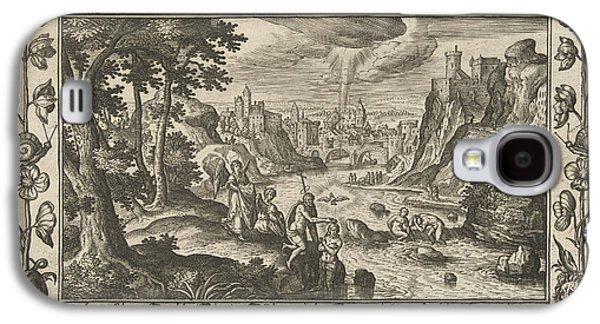 Baptism Of Christ, Adriaen Collaert, Eduwart Van Hoeswinckel Galaxy S4 Case