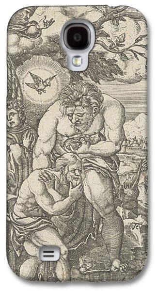 Baptism Of Christ In The Jordan, Monogrammist Ac 16e Eeuw Galaxy S4 Case