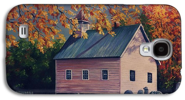 Baptist Church  Cades Cove Galaxy S4 Case by John Clark