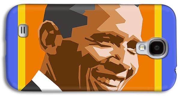 Barack Galaxy S4 Case by Douglas Simonson