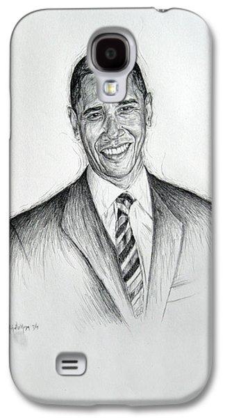 Barack Obama 2 Galaxy S4 Case
