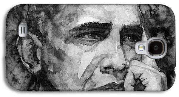 Barack Obama Galaxy S4 Case by Laur Iduc