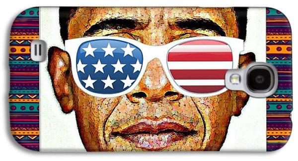 Barack Obama Galaxy S4 Case by Nuno Marques