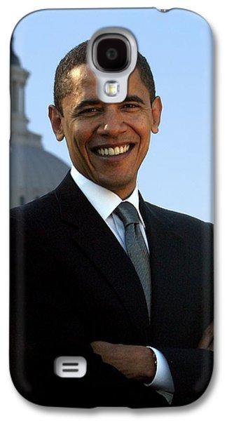 Barack Obama Galaxy S4 Case by Tilen Hrovatic