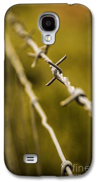 Barbed Wire Galaxy S4 Case by Carlos Caetano