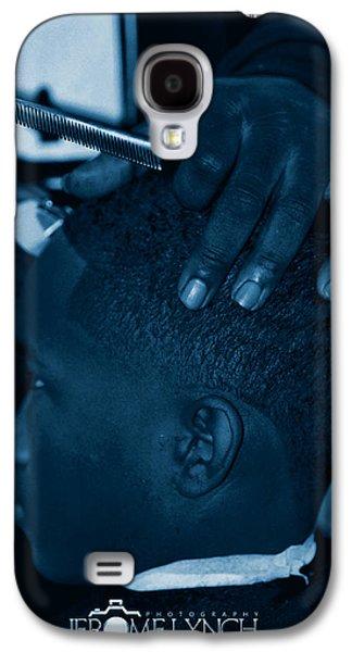 Barbershop  Art Galaxy S4 Case by Jerome Lynch