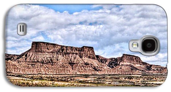 Bardenas Desert Panorama 1 Galaxy S4 Case