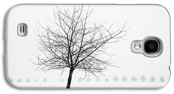 Bare Tree In Winter - Wonderful Black And White Snow Scenery Galaxy S4 Case