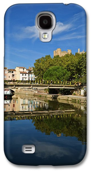 Barges On The Canal Du Midi As It Runs Galaxy S4 Case by Panoramic Images