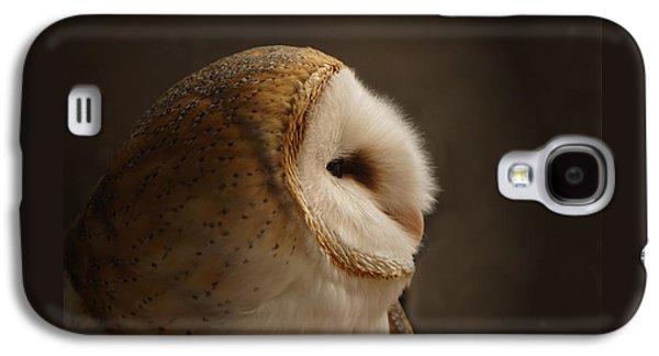 Owl Galaxy S4 Case - Barn Owl 3 by Ernie Echols