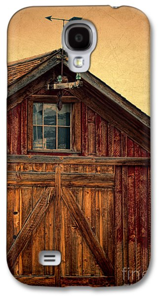 Barn With Weathervane Galaxy S4 Case