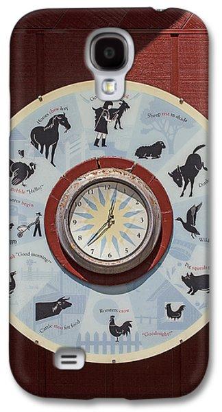 Barn Yard Clock Galaxy S4 Case