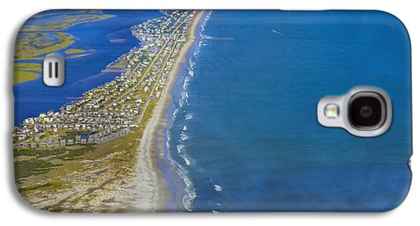 Barrier Island Aerial Galaxy S4 Case by Betsy Knapp