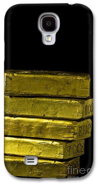 Bars Of Gold Galaxy S4 Case by Edward Fielding
