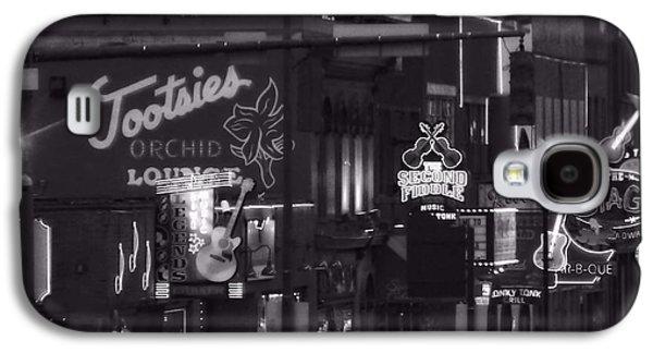Bars On Broadway Nashville Galaxy S4 Case