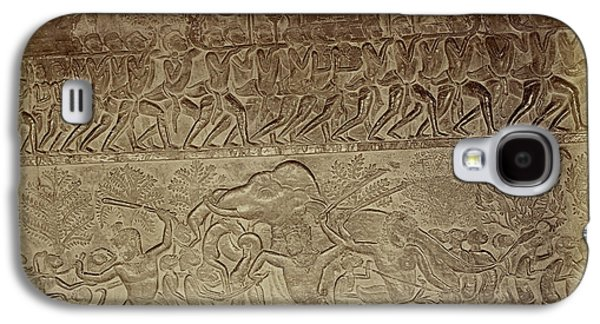 Bas-relief Galaxy S4 Case by British Library