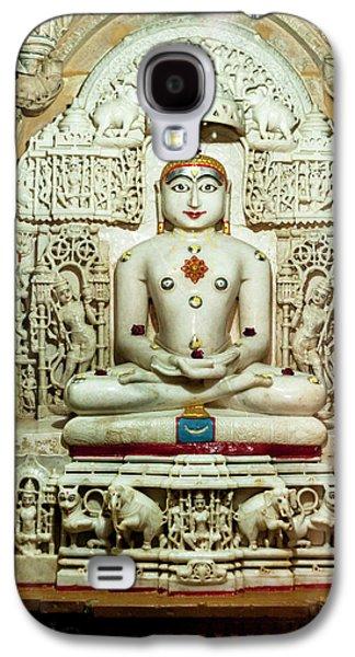 Bas Relief Jain Temple Golden Sandstone Galaxy S4 Case by Tom Norring