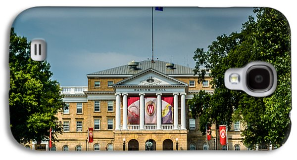 Bascom Hall Galaxy S4 Case by Randy Scherkenbach
