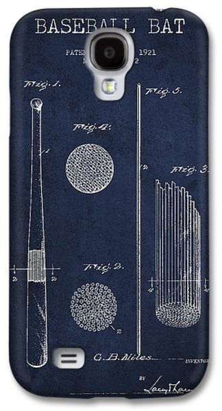 Baseball Bat Patent Drawing From 1921 Galaxy S4 Case by Aged Pixel