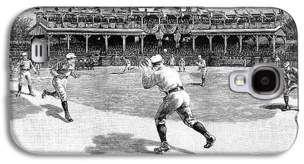 Baseball Game, 1886 Galaxy S4 Case by Granger