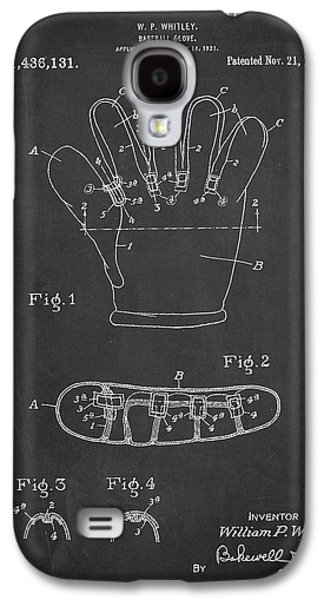Baseball Glove Patent Drawing From 1922 Galaxy S4 Case by Aged Pixel