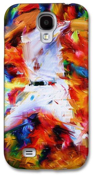 Baseball  I Galaxy S4 Case by Lourry Legarde