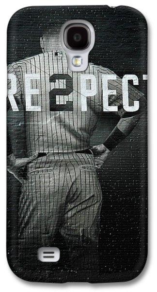 Baseball Galaxy S4 Case by Jewels Blake Hamrick