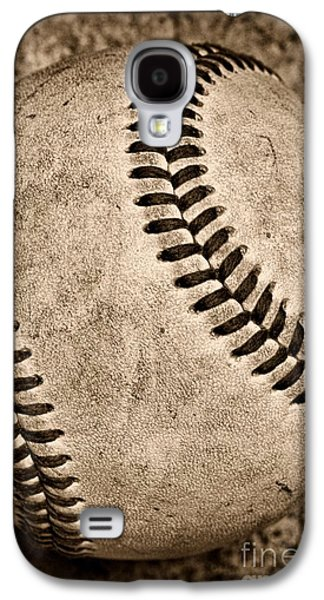 Baseball Old And Worn Galaxy S4 Case
