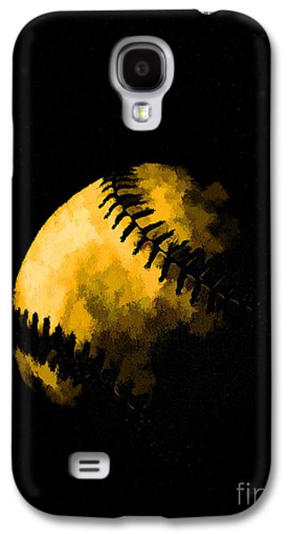 Baseball The American Pastime Galaxy S4 Case