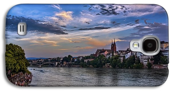 Basel Bathed In Moonlight Galaxy S4 Case