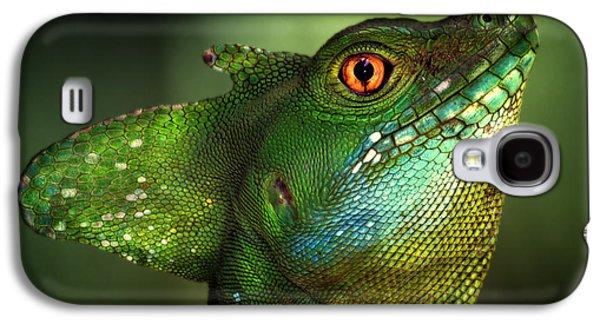 Dragon Galaxy S4 Case - Basilisca Verde by Jimmy Hoffman
