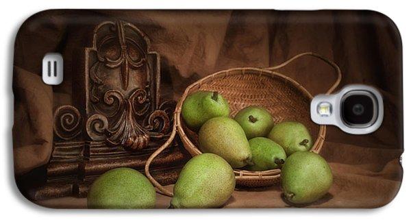 Basket Of Pears Still Life Galaxy S4 Case by Tom Mc Nemar