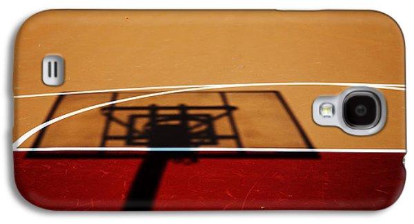 Basketball Shadows Galaxy S4 Case by Karol Livote