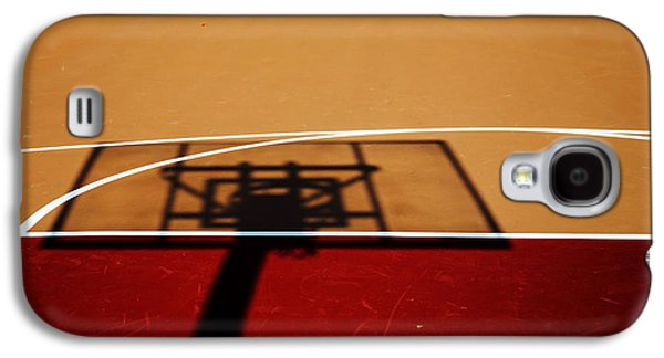 Basketball Shadows Galaxy S4 Case by Karol Livote