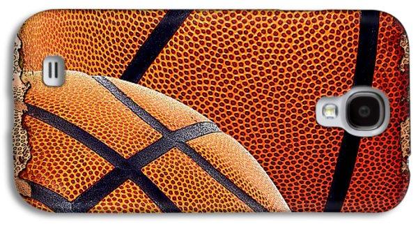 Basketballs  Galaxy S4 Case by David G Paul