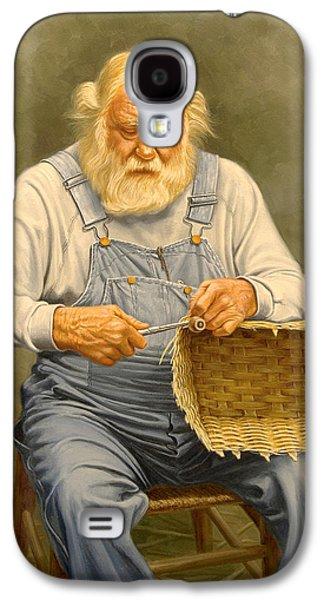 Basketmaker  In Oil Galaxy S4 Case by Paul Krapf