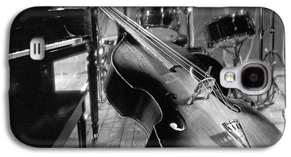 Bass Fiddle Galaxy S4 Case by Tony Cordoza