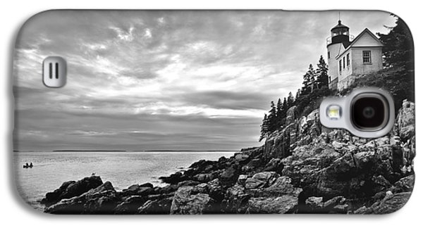 Bass Harbor Lighthouse At Dusk Galaxy S4 Case by Diane Diederich