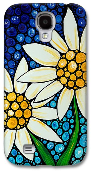 Bathing Beauties - Daisy Art By Sharon Cummings Galaxy S4 Case