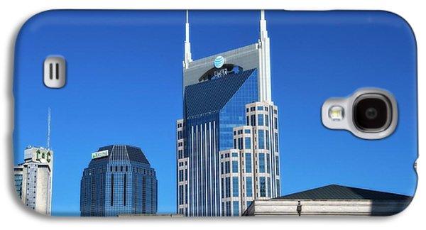Nashville Skyline Galaxy S4 Case - Batman Building And Nashville Skyline by Dan Sproul