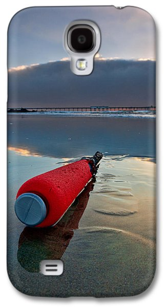 Batter-ed By The Sea Galaxy S4 Case by Peter Tellone