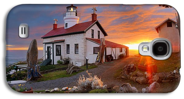 Battery Point Lighthouse Galaxy S4 Case by Leland D Howard