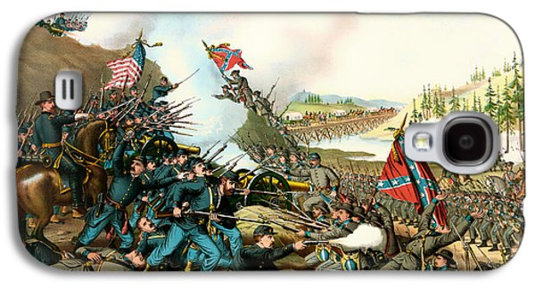 Battle Of Franklin Tennessee 1864 Galaxy S4 Case by Mountain Dreams