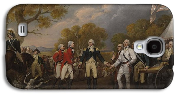 Battle Of Saratoga, The British General John Burgoyne Surrendering Galaxy S4 Case by John Trumbull