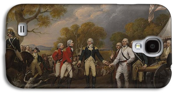 Battle Of Saratoga, The British General John Burgoyne Surrendering Galaxy S4 Case