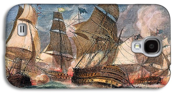 Battle Of Virginia Capes Galaxy S4 Case by Granger