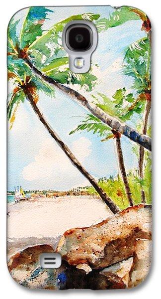 Bavaro Tropical Sandy Beach Galaxy S4 Case by Carlin Blahnik