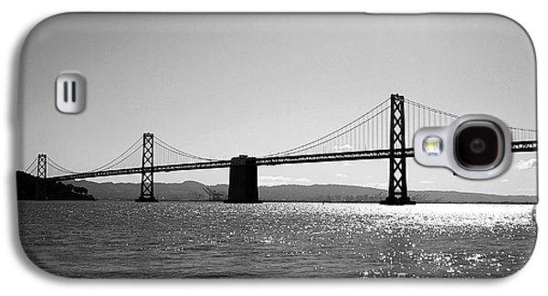 Bay Bridge Galaxy S4 Case by Rona Black