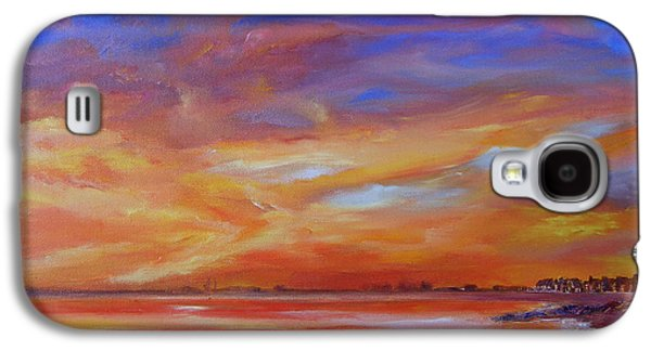 Bay Of Hythe On Fire Galaxy S4 Case